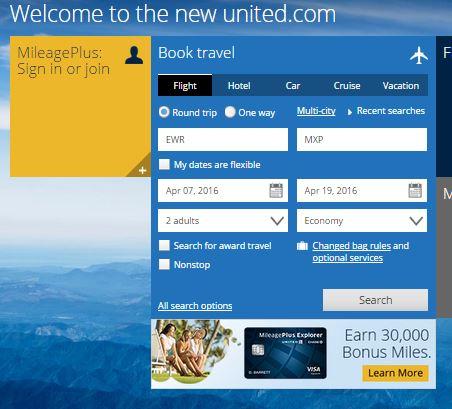 UA website