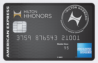 Hilton Surpass card