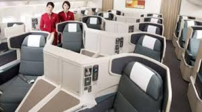 Cathay 777 business