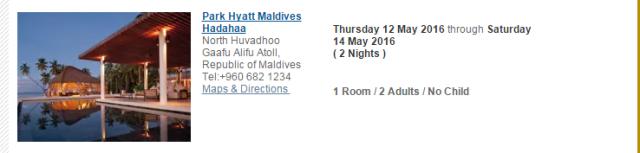 Maldive PH 1