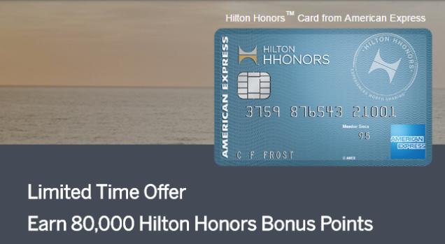 AMEX Hilton Honors
